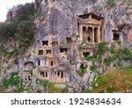 Greek Rock Hewn Tombs On...