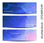 vector space background banner | Shutterstock .eps vector #192489149