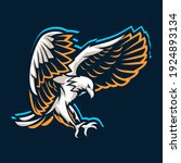 eagle logo symbol vector icon | Shutterstock .eps vector #1924893134