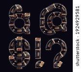 3d rendering of steampunk... | Shutterstock . vector #1924929581