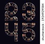 3d rendering of steampunk... | Shutterstock . vector #1924929584