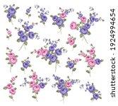 beautiful rose illustration... | Shutterstock .eps vector #1924994654