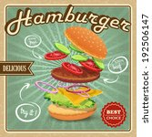 delicious best choice retro... | Shutterstock . vector #192506147