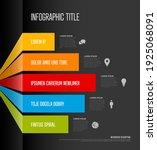 vector multipurpose infographic ... | Shutterstock .eps vector #1925068091