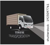 truck logo vector... | Shutterstock .eps vector #1925097761