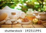 accessories for spa treatments | Shutterstock . vector #192511991