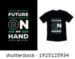 future on my hand modern... | Shutterstock .eps vector #1925125934