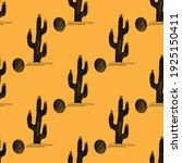 cactus seamless pattern in... | Shutterstock .eps vector #1925150411