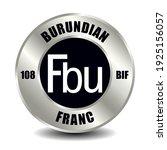 burundi money icon isolated on... | Shutterstock .eps vector #1925156057