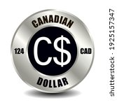 canada money icon isolated on... | Shutterstock .eps vector #1925157347