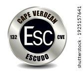 cape verde money icon isolated... | Shutterstock .eps vector #1925157641
