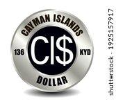 cayman islands money icon... | Shutterstock .eps vector #1925157917