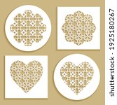 templates for laser cutting ... | Shutterstock .eps vector #1925180267