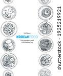 korean food top view... | Shutterstock .eps vector #1925219921
