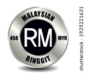 malaysia money icon isolated on ...   Shutterstock .eps vector #1925221631