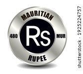 mauritius money icon isolated...   Shutterstock .eps vector #1925224757