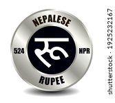 nepal money icon isolated on...   Shutterstock .eps vector #1925232167