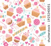 vector seamless pattern with...   Shutterstock .eps vector #1925240051
