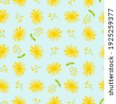 dandelion seamless pattern....   Shutterstock .eps vector #1925259377