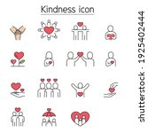 kindness  charity  donation... | Shutterstock .eps vector #1925402444