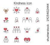 kindness  charity  donation... | Shutterstock .eps vector #1925402444