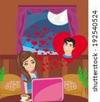 love in web    Shutterstock .eps vector #192540524