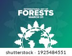international day of forests.... | Shutterstock .eps vector #1925484551