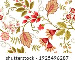 seamless pattern with stylized... | Shutterstock .eps vector #1925496287