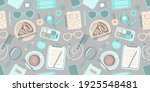 fashion seamless pattern with...   Shutterstock .eps vector #1925548481