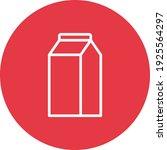 milk  pack  dairy  drink icon...
