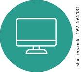 computer desktop  monitor icon...