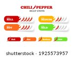chili pepper heat unit scale or ... | Shutterstock .eps vector #1925573957