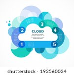 cloud computing concept vector... | Shutterstock .eps vector #192560024
