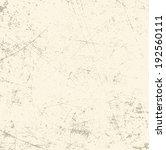 grunge texture. vector... | Shutterstock .eps vector #192560111