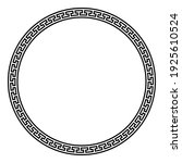 big circle frame with simple...   Shutterstock .eps vector #1925610524