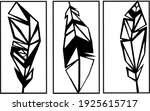 template  for laser cutting.... | Shutterstock .eps vector #1925615717