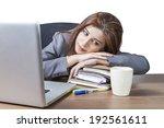 business woman attractive... | Shutterstock . vector #192561611