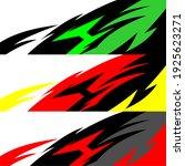 racing car wrap design vector | Shutterstock .eps vector #1925623271