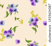 seamless pattern with colorful... | Shutterstock .eps vector #1925624387