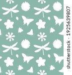 vector seamless pattern of...   Shutterstock .eps vector #1925639807