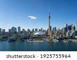 Toronto City Center Aerial View ...