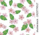 vector spring seamless... | Shutterstock .eps vector #1925779517