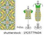 fashion art collection  vector... | Shutterstock .eps vector #1925779604