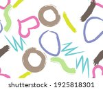cute seamless pattern with... | Shutterstock .eps vector #1925818301