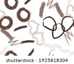 cute seamless pattern with... | Shutterstock .eps vector #1925818304