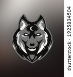 Ice Wolf Logo Symbol For All