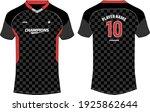 sports jersey t shirt design... | Shutterstock .eps vector #1925862644