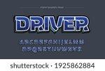 gaming blue techno sports 3d...   Shutterstock .eps vector #1925862884