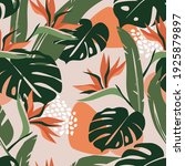 seamless abstract pattern with... | Shutterstock .eps vector #1925879897