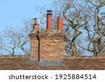 Chimney Stack On An Old Country ...